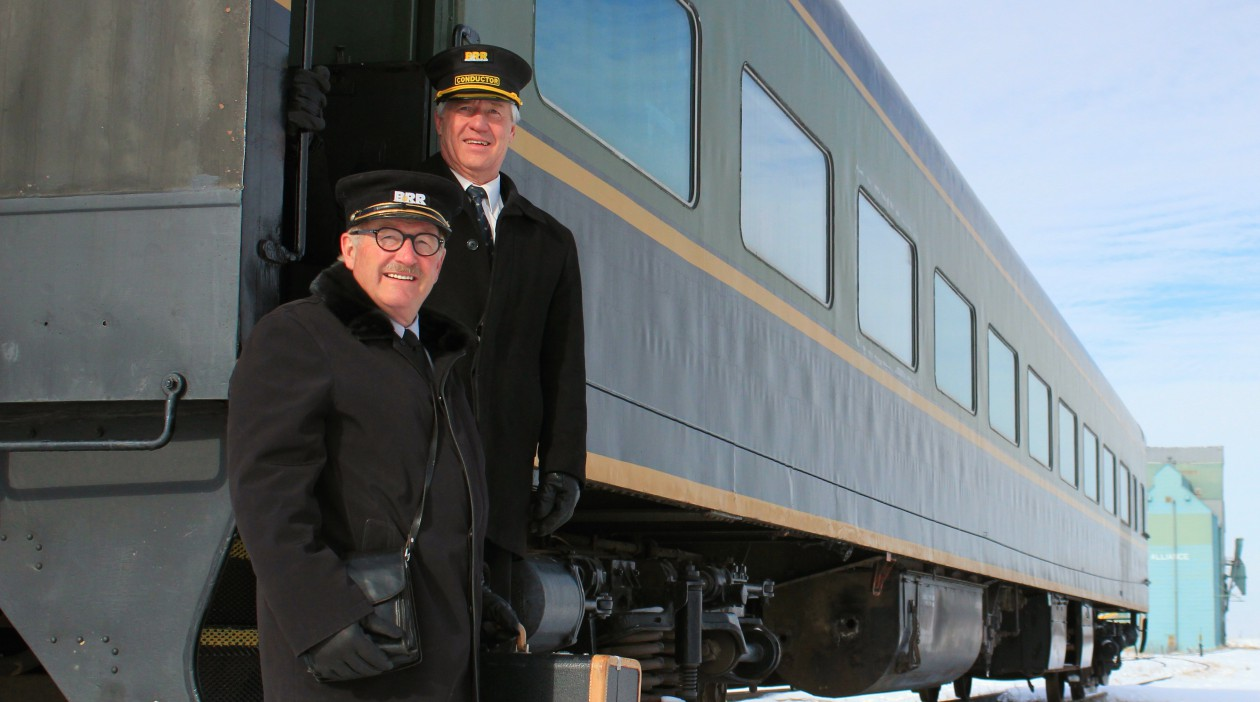 Friends of the Battle River Railway